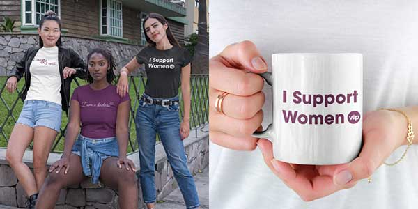 VIP tshirts and mug mockups