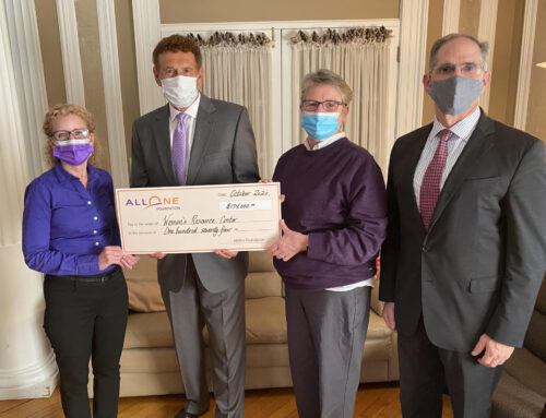 VIP and The WRC Receive Funding From the AllOne Foundation